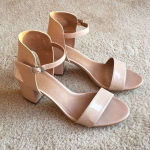 14th & Union - Blush Pink Heeled Sandals